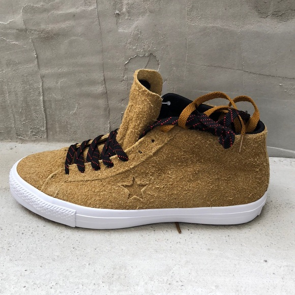 563e9b2f0ed07b  80 Converse One Star Pro Suede Mid Antiqued